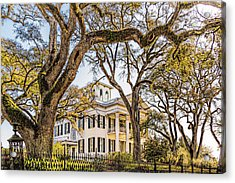 Antebellum Mansion Acrylic Print