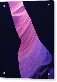 Acrylic Print featuring the photograph Antelope Canyon 10 by Jeff Brunton