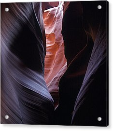 Acrylic Print featuring the photograph Antelope Canyon 5 by Jeff Brunton