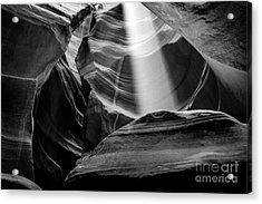 Antelope Canyon Beam 2 Acrylic Print