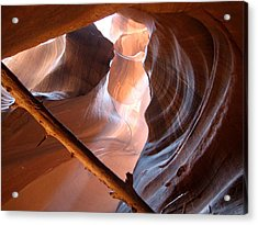 Acrylic Print featuring the photograph Antelope Canyon by Dany Lison