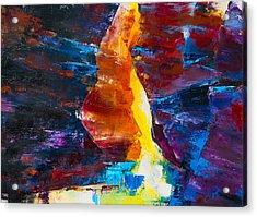 Antelope Canyon Light Acrylic Print