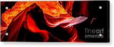 Antelope Canyon Rock Wave Acrylic Print by Az Jackson