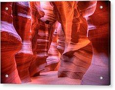 Antelope Canyon Acrylic Print