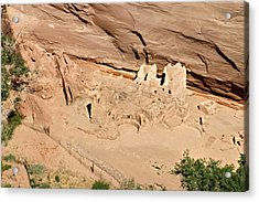 Antelope House Ruins Blending In Acrylic Print by Christine Till