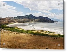 Acrylic Print featuring the photograph Antelope Island by Belinda Greb