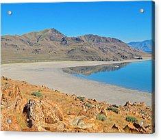 Antelope Island Acrylic Print by Dan Miller