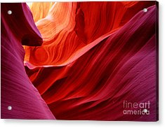 Antelope Lower Canyon Acrylic Print