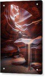 Antelope Sandfall Acrylic Print