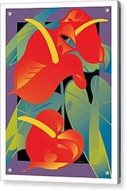 Anthurium Acrylic Print