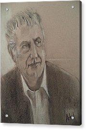 Anthony Bourdain Acrylic Print
