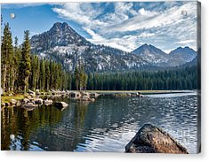 Anthony Lake Acrylic Print by Robert Bales