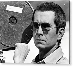 Anthony Perkins In Mahogany  Acrylic Print by Silver Screen
