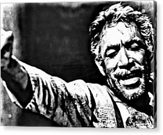 Anthony Quinn As Zorba Acrylic Print