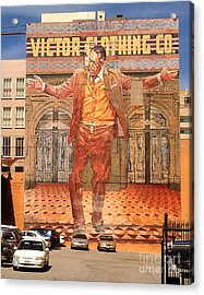 Anthony Quinn Mural Acrylic Print by Gregory Dyer