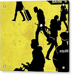 Anti-terrorism Police Acrylic Print by Smetek