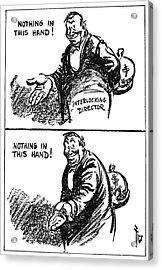 Anti-trust Cartoon, 1914 Acrylic Print