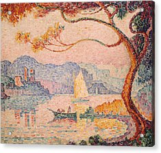 Antibes  Petit Port De Bacon Acrylic Print by Paul Signac