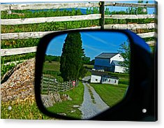 Acrylic Print featuring the photograph Antietam Reflections by Andy Lawless