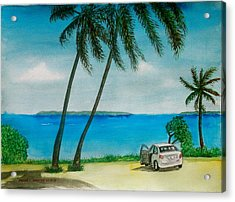 Antigua Acrylic Print by Frank Hunter