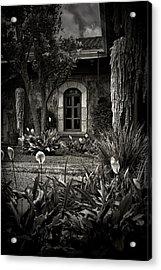 Antigua Garden Acrylic Print by Tom Bell