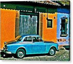 Antigua Volvo Acrylic Print