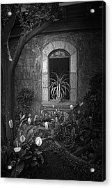 Antigua Window Acrylic Print by Tom Bell