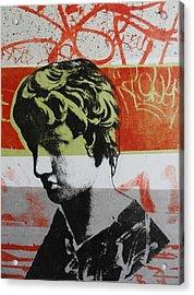 Antinous V Acrylic Print by Carmine Santaniello