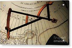 Antiquaria Nautica Acrylic Print by RC deWinter