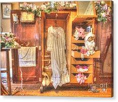 Antique Armoire Acrylic Print