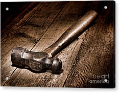 Antique Blacksmith Hammer Acrylic Print
