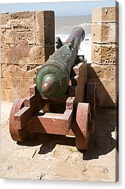 Antique Cannon In The North Bastion Acrylic Print by Panoramic Images