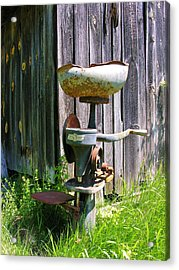 Acrylic Print featuring the photograph Antique Cream Separator by Sherman Perry