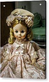 Antique Doll Acrylic Print