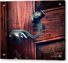 Antique Door Knob Acrylic Print