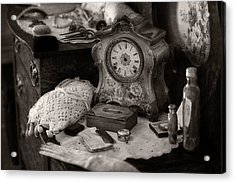 Antique Dresser I Acrylic Print by Maria Angelica Maira