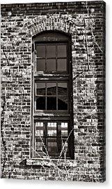 Antique Factory Window Acrylic Print