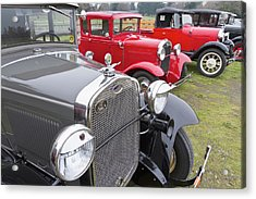 Antique Ford Automobiles At Ft Acrylic Print