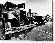 Antique Ford Car At Car Show Acrylic Print