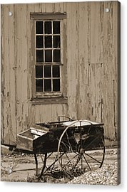 Antique Hay Cart Acrylic Print