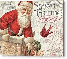 Antique Holiday I Acrylic Print by Pela Studio