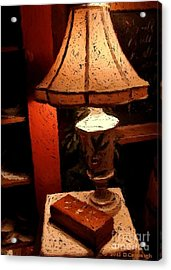 Antique Lamp Acrylic Print
