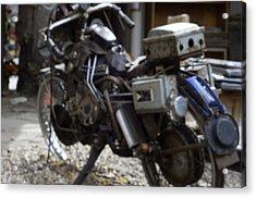 Antique Motorcycle  Acrylic Print by Brett Roberts