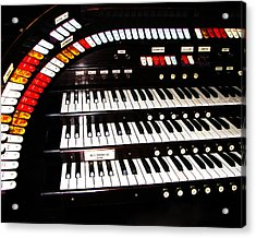 Acrylic Print featuring the photograph Antique Organ by Marcia Socolik