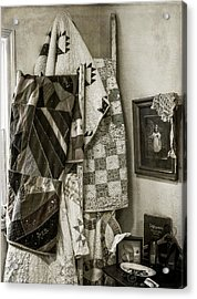 Antique Quilts Acrylic Print
