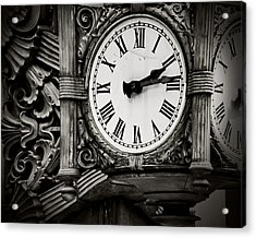 Antique Time Acrylic Print by April Lee