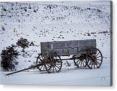 Antique Wagon Acrylic Print