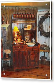 Antiques And Fragrances Acrylic Print by Glenn McCarthy Art and Photography