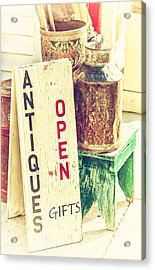 Antiques And Gifts Acrylic Print