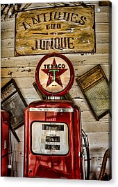 Antiques And Junque Acrylic Print by Heather Applegate